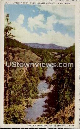 Little Pigeon River, Mount Leconte - Great Smoky Mountains National Park, North Carolina NC Postcard