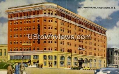 The O'Henry Hotel - Greensboro, North Carolina NC Postcard