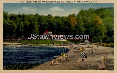 Laurel Park Inn on Laurel Lake - Hendersonville, North Carolina NC Postcard