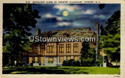 Countyry Clubhouse - Hickory, North Carolina NC Postcard