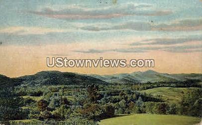 Mt. Pisgah and the Rat - Asheville, North Carolina NC Postcard
