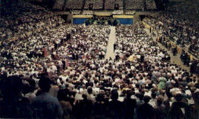 Coliseum - Charlotte, North Carolina NC Postcard