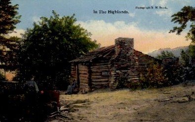 In the Highlands - Misc, North Carolina NC Postcard