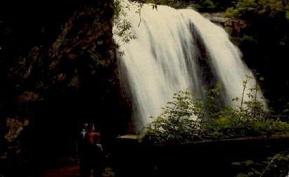 Upper Cullasaja Falls - Misc, North Carolina NC Postcard