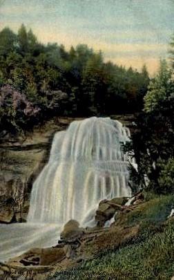 Waterfall - Misc, North Carolina NC Postcard