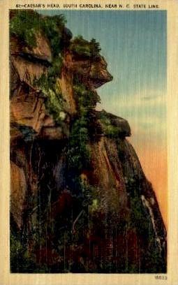 Caesers's Head - Misc, North Carolina NC Postcard