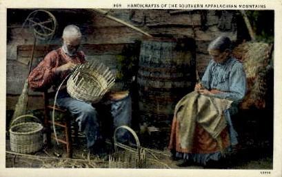 Southern Appalacian Mountains - Misc, North Carolina NC Postcard