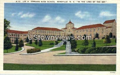 Lee H. Edwards  - Asheville, North Carolina NC Postcard