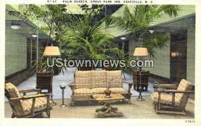 Palm Garden at the Grove Park Inn - Asheville, North Carolina NC Postcard