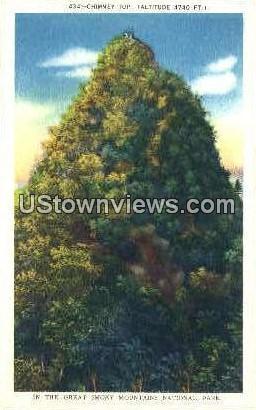 Chimney Top - Great Smoky Mountains National Park, North Carolina NC Postcard