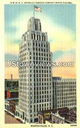 R. J. Reynolds Tobacco Company - Winston-Salem, North Carolina NC Postcard