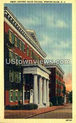 Historic Salem College - Winston-Salem, North Carolina NC Postcard