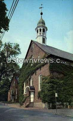 The Home Moravian Church - Winston-Salem, North Carolina NC Postcard