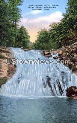 Indian Creek Falls - Great Smoky Mountains National Park, North Carolina NC Postcard