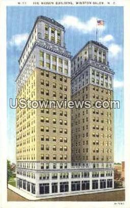 The Nissen Building - Winston-Salem, North Carolina NC Postcard