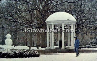 The Old Well at Winter's Peak - Chapel Hill, North Carolina NC Postcard