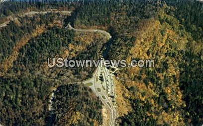 Parking Area at Newfound Gap - Misc, North Carolina NC Postcard