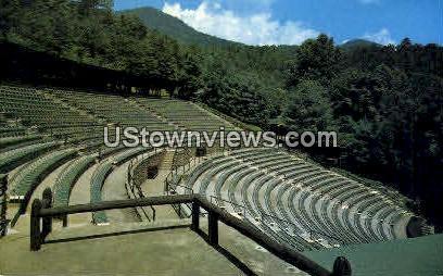 The Mountainside Theatre - Cherokee, North Carolina NC Postcard