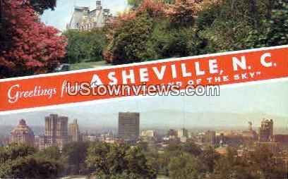 Asheville Watershed - North Carolina NC Postcard