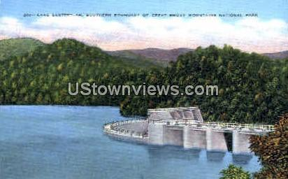 Lake Santeetlah - Great Smoky Mountains National Park, North Carolina NC Postcard