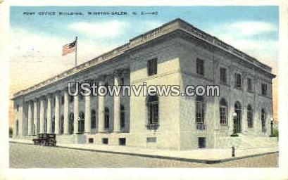 Post Office Building - Winston-Salem, North Carolina NC Postcard