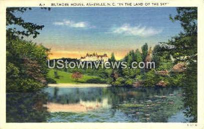 The Biltmore House - Asheville, North Carolina NC Postcard