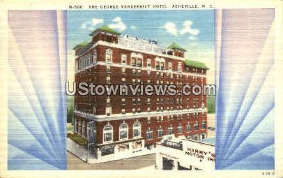 The George Vanderbilt Hotel - Asheville, North Carolina NC Postcard
