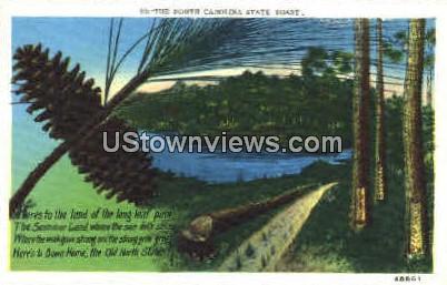 The North Carolina State Toast - Misc Postcard