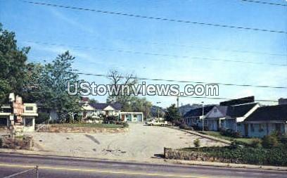 Down Town Motel, Inc. - Asheville, North Carolina NC Postcard