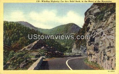 Solid Rock - Misc, North Carolina NC Postcard
