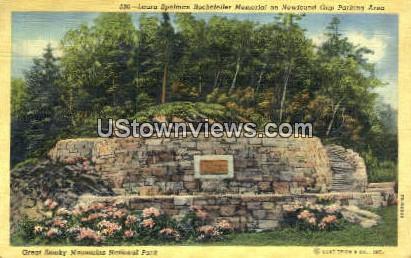 Laura Spelman Rockefeller Memorial - Great Smoky Mountains National Park, North Carolina NC Postcard