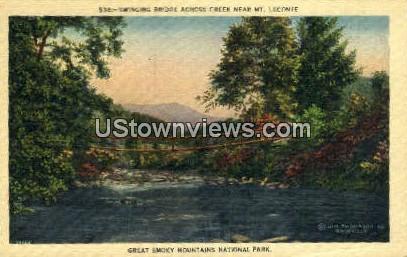 Mt. Leconte - Great Smoky Mountains National Park, North Carolina NC Postcard