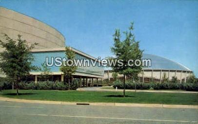 Ovens Aud, Charlotte Coliseum - North Carolina NC Postcard