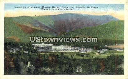 US Veterans Hospital - Asheville, North Carolina NC Postcard