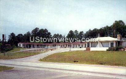 Singing Hills Motor Lodge - Asheville, North Carolina NC Postcard