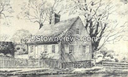 Anna Catharina House - Winston-Salem, North Carolina NC Postcard