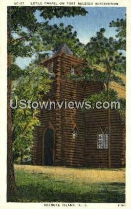 Little Chapel - Roanoke Island, North Carolina NC Postcard