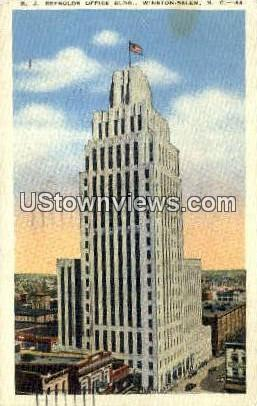 R.J. Reynolds Office Bldg - Winston-Salem, North Carolina NC Postcard