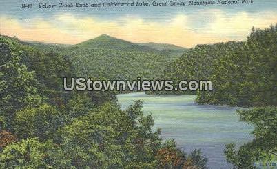 Yellow Creek Knob - Great Smoky Mountains National Park, North Carolina NC Postcard