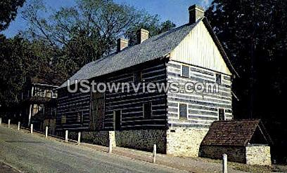 Old Salem - Winston-Salem, North Carolina NC Postcard