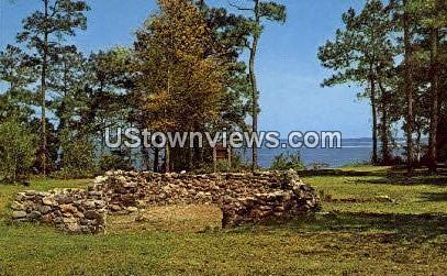 Brunswick Town - Wilmington, North Carolina NC Postcard