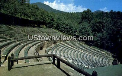 Mountainside Theatre - Great Smoky Mountains National Park, North Carolina NC Postcard