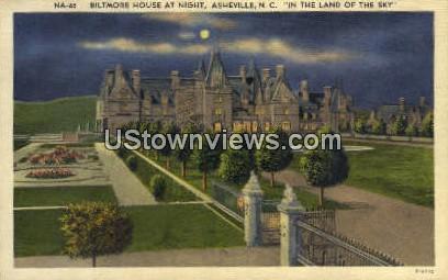 Biltmore House - Asheville, North Carolina NC Postcard