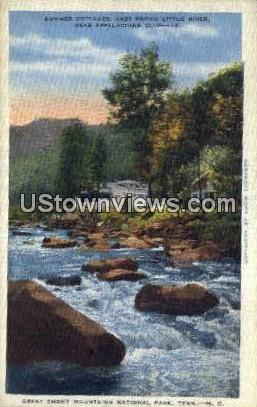 Summer Cottages - Great Smoky Mountains National Park, North Carolina NC Postcard