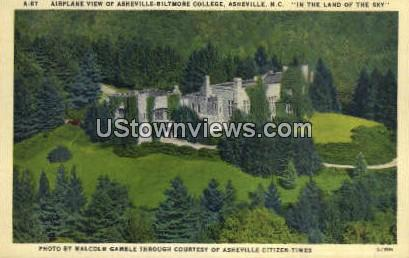 Asheville-Biltmore College - North Carolina NC Postcard