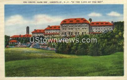 Grove Park Inn - Asheville, North Carolina NC Postcard