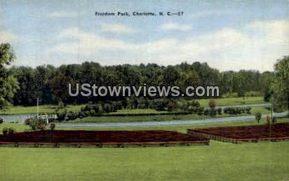 Freedom Park - Charlotte, North Carolina NC Postcard