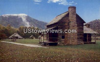 Pioneer Cabin - Great Smoky Mountains National Park, North Carolina NC Postcard