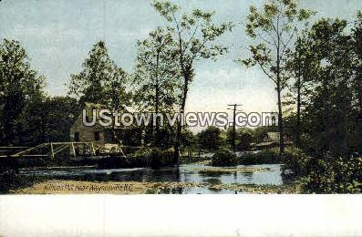 Killions Mill - Waynesville, North Carolina NC Postcard