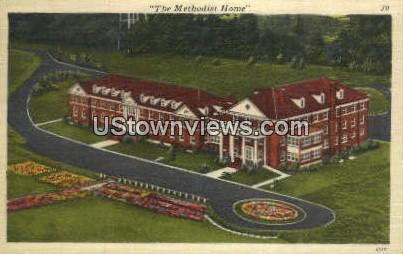 Methodist Home - Charlotte, North Carolina NC Postcard